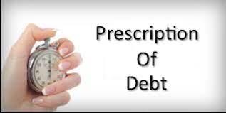 Prescription: Have my debts prescribed?